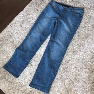 Buffalo Mid-Rose Straight Let Stretch Jeans